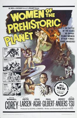 Women Of The Prehistoric Planet Movie Poster 24x36 - Fame Collectibles