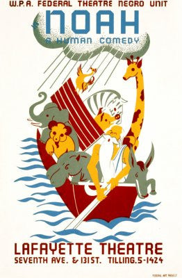 Wpa Noah Poster 24x36 - Fame Collectibles
