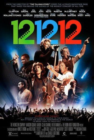 12 12 12 Concert Movie Poster Puzzle Fun-Size 120 pcs - Fame Collectibles