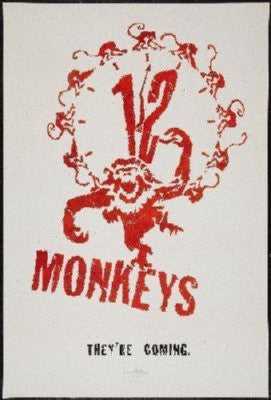 12 Monkeys Mouse Pad Mousepad Mouse mat - Fame Collectibles