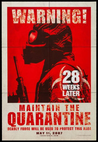 28 Weeks Later Movie Poster Puzzle Fun-Size 120 pcs - Fame Collectibles