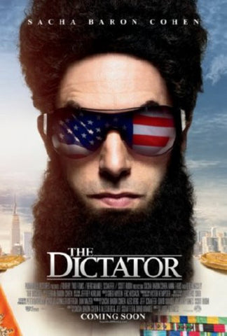 Dictator The Movie Poster 24inx36insacha baron cohen (61cm x 91cm) 24x36 - Fame Collectibles