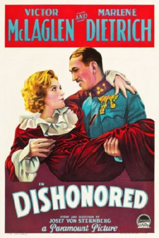 Dishonored The Movie Poster 24inx36in (61cm x 91cm) - Fame Collectibles