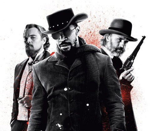 Django Unchained Movie Poster 24inx36in Poster 24x36 - Fame Collectibles