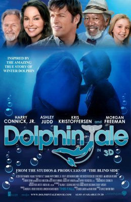Dolphin Tale Movie Poster 24inx36in (61cm x 91cm) - Fame Collectibles