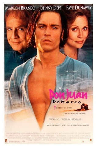 Don Juan Demarco Movie Poster 24Inx36In Poster 24x36 - Fame Collectibles