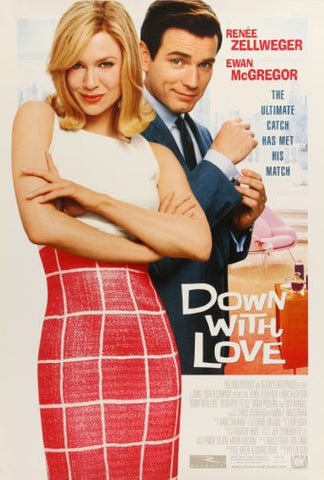 Down With Love Movie Poster 24inx36in Poster 24x36 - Fame Collectibles