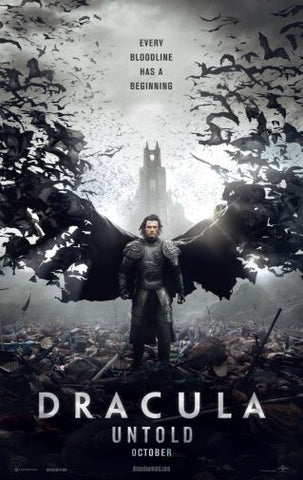 Dracula Untold Movie poster 24inx36in Poster 24x36 - Fame Collectibles