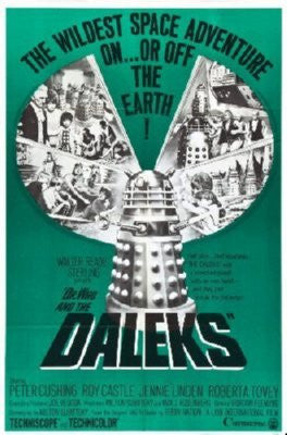 Dr Who And The Daleks Poster 24inx36in - Fame Collectibles