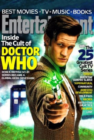 Dr Who Entertainment Weekly Cover Poster 24inx36in (61cm x 91cm) - Fame Collectibles