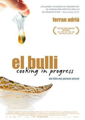 El Bulli Cooking In Progress German Movie Poster 24inx36in 61cm x 91cm 24x36 - Fame Collectibles
