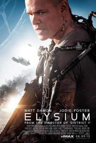 Elysium Movie Poster 24inx36in Poster 24x36 - Fame Collectibles