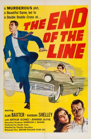End Of The Line Movie Poster 24inx36in Poster 24x36 - Fame Collectibles