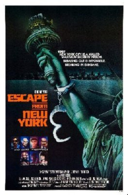 Escape From New York Poster 24inx36in - Fame Collectibles