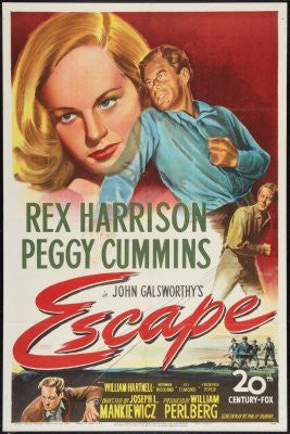 Escape Movie Poster 24inx36in (61cm x 91cm) - Fame Collectibles