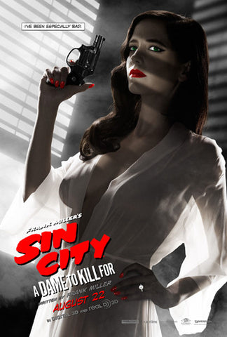 Eva Green Sin City 2 Movie Poster 24x36 OUT OF PRINT 24x36 - Fame Collectibles
