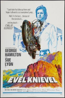 Evel Knievel Movie Poster 24inx36in (61cm x 91cm) - Fame Collectibles