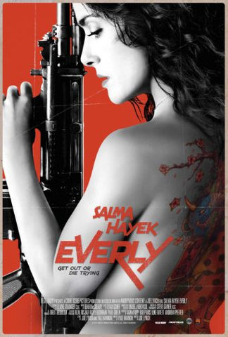 Everly Movie poster 24inx36in Poster 24x36 - Fame Collectibles