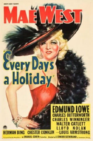 Every Days A Holiday Movie Poster 24inx36in (61cm x 91cm) - Fame Collectibles