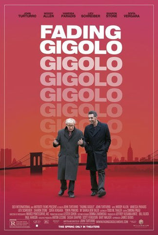 Fading Gigolo Movie Poster 24Inx36In Poster 24x36 - Fame Collectibles