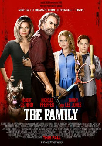 Family The Movie poster 24inx36in Poster 24x36 - Fame Collectibles