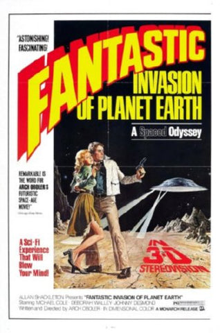 Fantastic Invasion Of Planet Earth Movie Poster 24inx36in - Fame Collectibles
