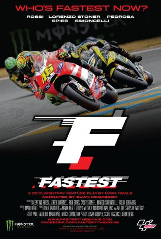 Fastest Motogp Movie Poster 24inx36in Poster 24x36 - Fame Collectibles