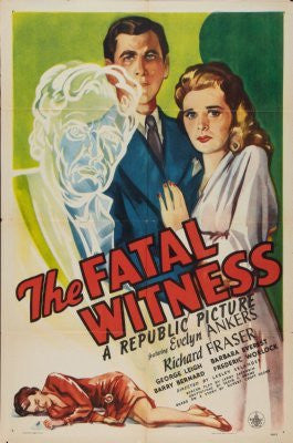 Fatal Witness Movie Poster 24inx36in (61cm x 91cm) - Fame Collectibles