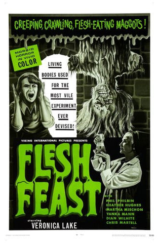 Flesh Feast Movie Poster 24inx36in Poster 24x36 - Fame Collectibles