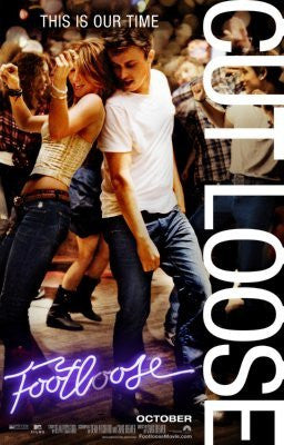Footloose Movie Poster 24inx36in (61cm x 91cm) - Fame Collectibles