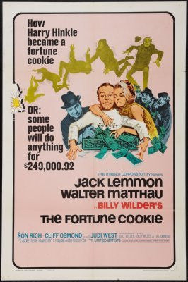 Fortune Cookie Movie Poster 24inx36in (61cm x 91cm) - Fame Collectibles