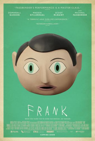 Frank Movie poster 24inx36in Poster 24x36 - Fame Collectibles