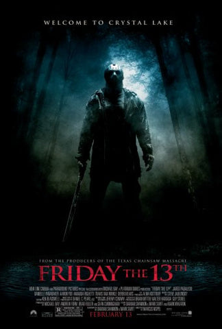 Friday The 13Th Movie Poster 24inx36in Poster 24x36 - Fame Collectibles
