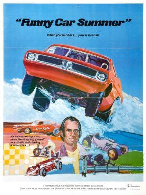 Funny Car Summer Movie Poster 24inx36in (61cm x 91cm) - Fame Collectibles