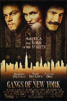 Gangs Of New York Poster 24inx36in - Fame Collectibles