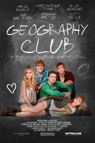 Geography Club Movie Poster 24inx36in Poster 24x36 - Fame Collectibles