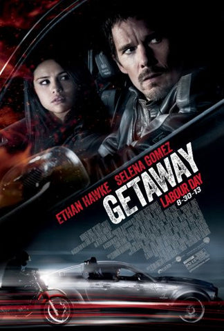 Getaway Movie Poster 24inx36in Poster 24x36 - Fame Collectibles