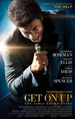 Get On Up Movie poster 24inx36in Poster 24x36 - Fame Collectibles