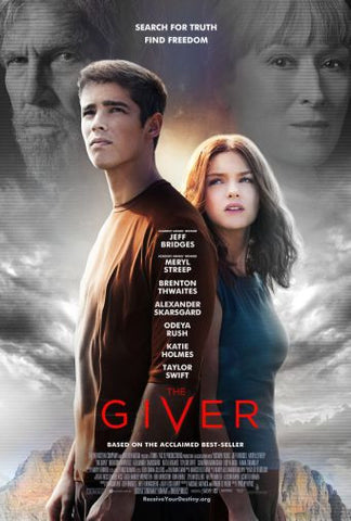 Giver The Movie poster 24inx36in Poster 24x36 - Fame Collectibles