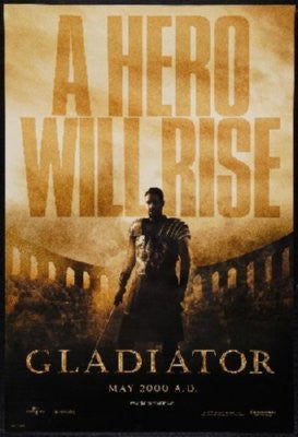 Gladiator Poster 24inx36in - Fame Collectibles