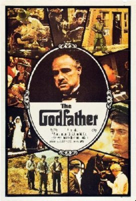 Godfather Poster 24inx36in - Fame Collectibles