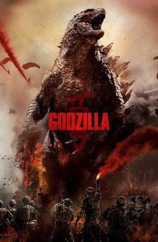 Godzilla Movie Poster 24Inx36In Poster 24x36 - Fame Collectibles