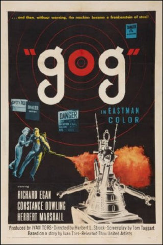Gog Movie Poster 24inx36in (61cm x 91cm) - Fame Collectibles