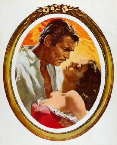 Gone With The Wind Movie Poster 24inx36in (61cm x 91cm) - Fame Collectibles