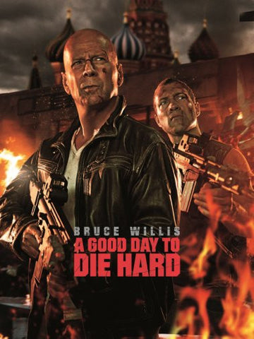 Good Day To Die Hard Movie Poster 24inx36in Poster 24x36 - Fame Collectibles