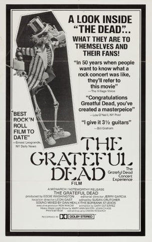 Grateful Dead Poster 24inx36in Poster 24x36 - Fame Collectibles