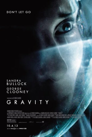 Gravity Movie Poster 24inx36in Poster 24x36 - Fame Collectibles