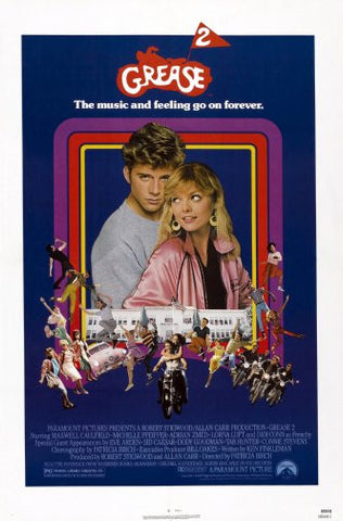 Grease 2 Movie Poster 24inx36in Poster 24x36 - Fame Collectibles