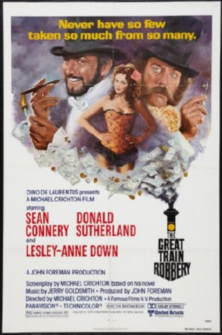 Great Train Robbery Movie Poster 24inx36in (61cm x 91cm) - Fame Collectibles