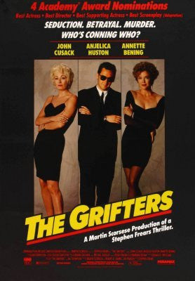 Grifters Movie Poster 24inx36in (61cm x 91cm) - Fame Collectibles